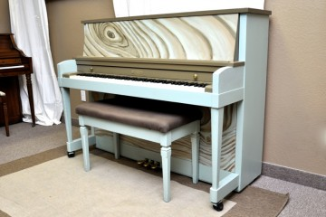 Baldwin studio acoustic upright piano tree pine artsy used for sale rent rental chandler tempe scottsdale gilbert mesa arizona phoenix my first gallery az